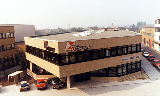 Bühler Technologies, headquarter Ratingen, Germany