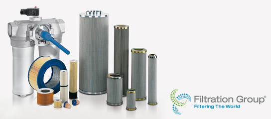 Filtersysteme und Filter-Komponenten der Filtration Group