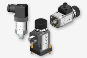 Mechanical pressure switches for pressure monitoring in oil supply systems