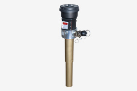 Aeration filter with integrated level and temperature sensor for hydraulic systems