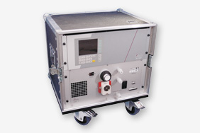 "The MAS type systems use a 19"" analyser and sample gas conditioning configured for the application inside a sturdy case, with a sample gas cooler, filter, pump and flow meter, etc."