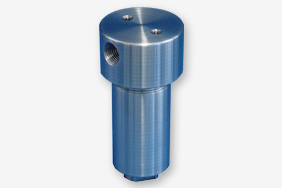 Filters to avoid secondary contamination in sample gas systems with very high pressure