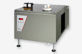Compressor gas cooler with constant cooling system for industrial processes